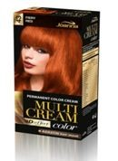 Tinte Capilar Multi Cream 43 Fiery Red