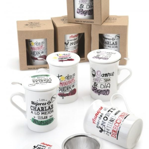 TAZA INFUSION FRASES